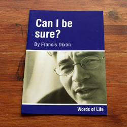 Can I be sure - by Francis Dixon