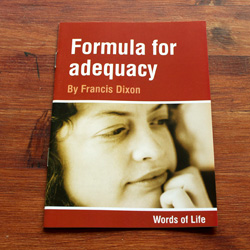 Formula for Adequacy - by Francis Dixon